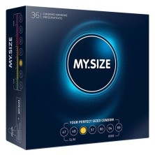 MY SIZE NATURAL CONDOM LATEX 53MM 36 UDS